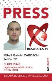 RTV - Press Card