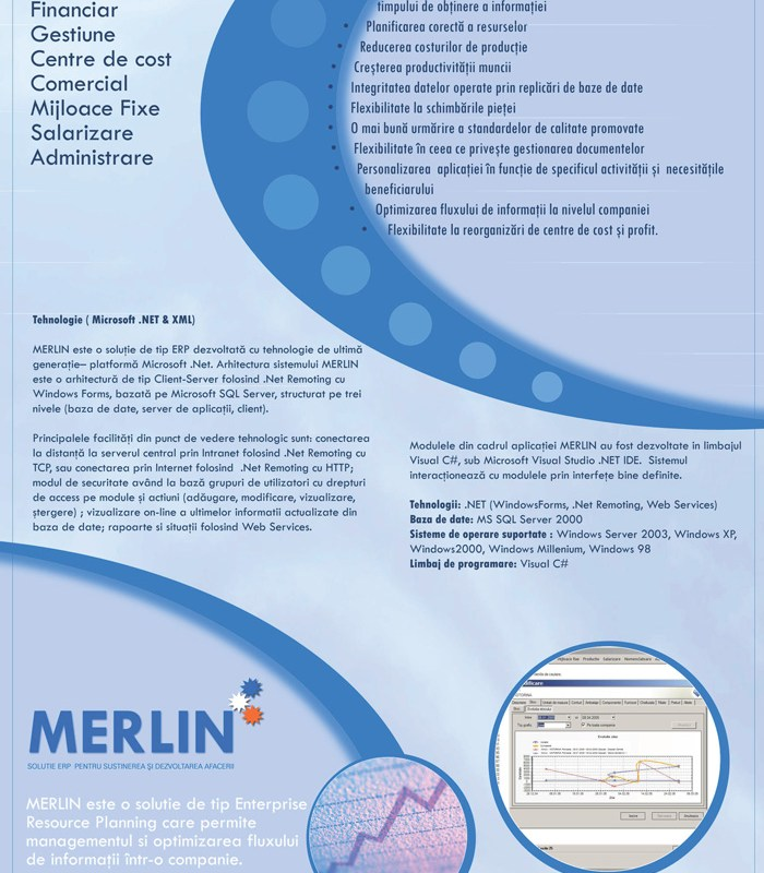 Merlin - flyer