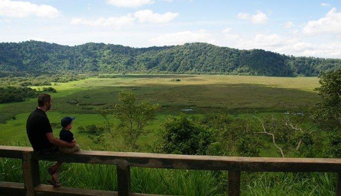 Uitzicht Arusha National Park