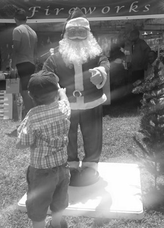 Julian bij de Kerstman