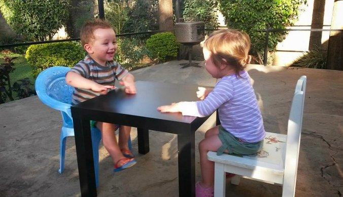 Julian en Juliana in Arusha