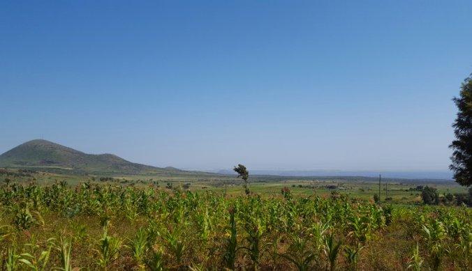 Uitzicht over Kenia en Amboseli National Park