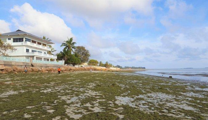 Strand bij Mediterraneo Hotel in Dar es Salaam