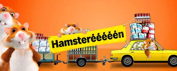 Hamsterweken - het circus van commercie