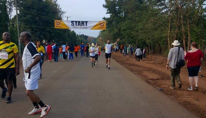 Juigend van start bij de Kilimanjaro Fun Run