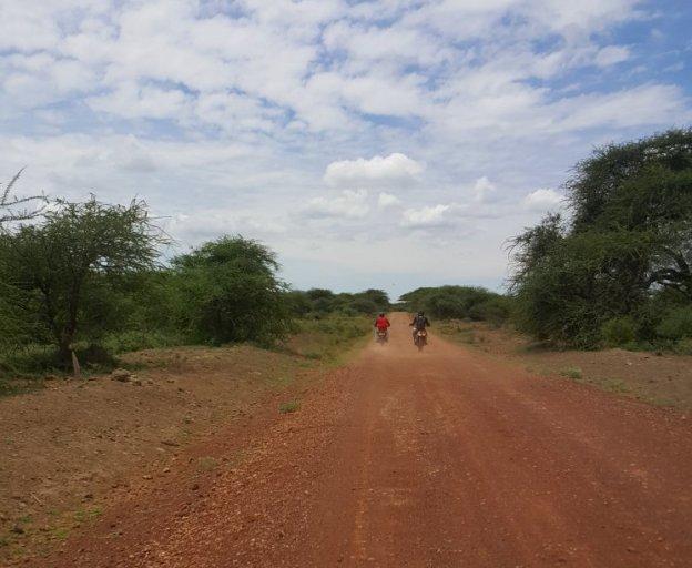 Op de motor door West Kilimanjaro