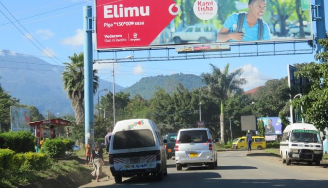 Bekeuring in Tanzania, Afrika