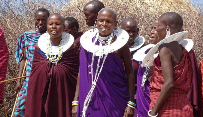 Dansende en zingende Maasai