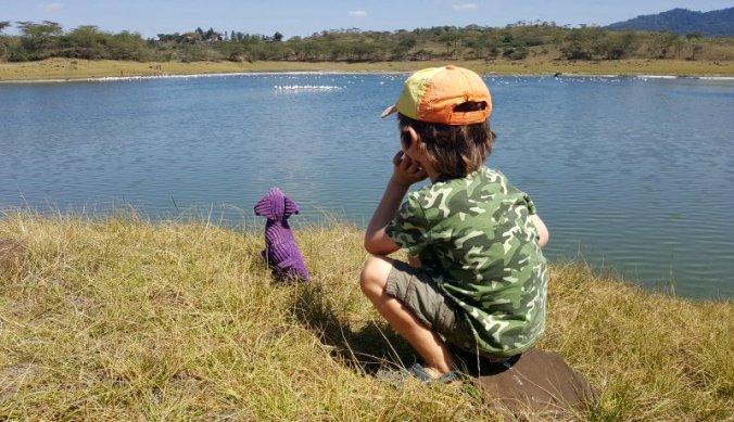 Sizzles op safari in Arusha National Park