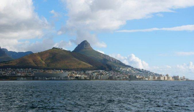Kaapstad aan de Atlantische Oceaan