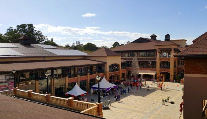 Mega winkelcentrum The Hub in Nairobi
