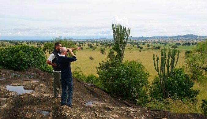 Adembenemend uitzicht over Kidepo Valley National Park