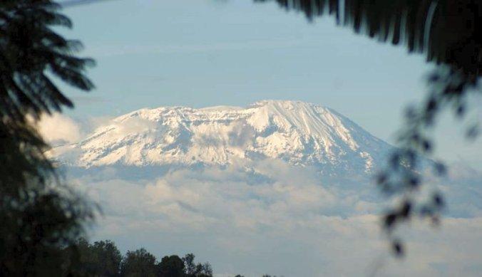Bijzonder veel sneeuw op de top van Mount Kilimanjaro