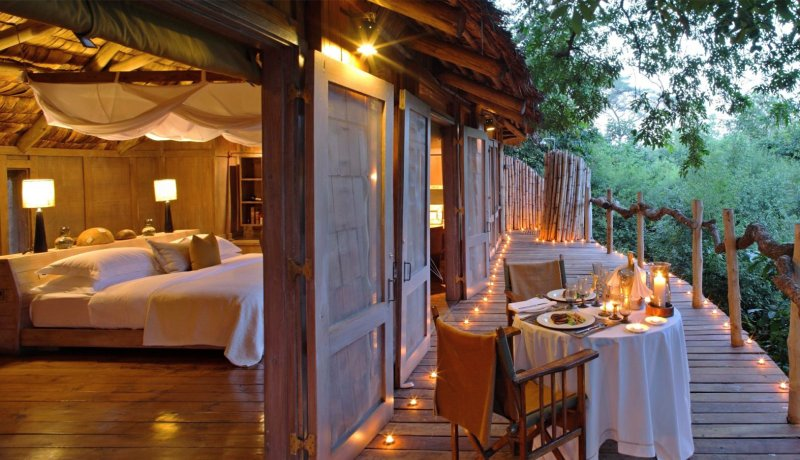 Wereldse safari lodges in Tanzania