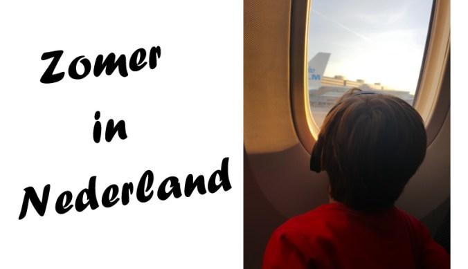 Tropische zomer in Nederland