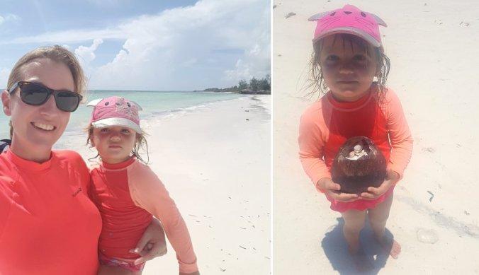 Schelpjes verzamelen met kinderen op Zanzibar