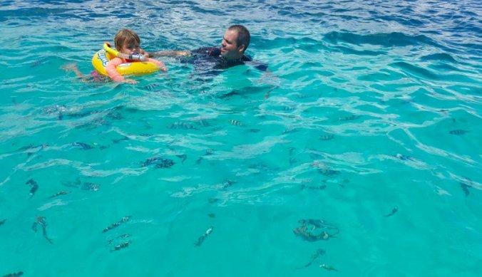 Snorkelen tussen de vissen op Zanzibar