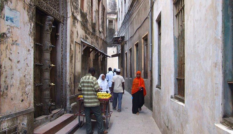 De sprookjesstad van Zanzibar