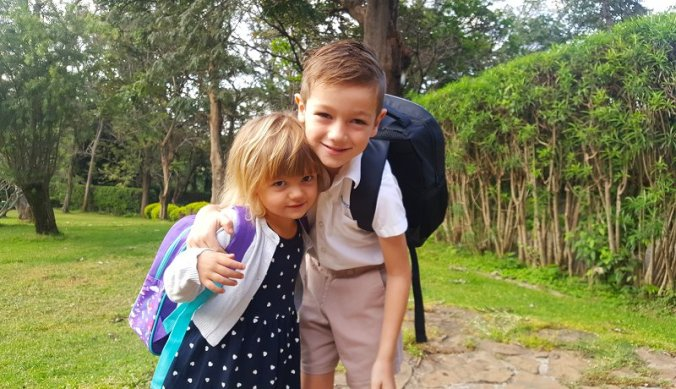 Terug naar school in Tanzania