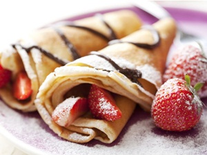 Resep Fruit Crepes