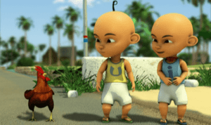 upin dan ipin wallpaper
