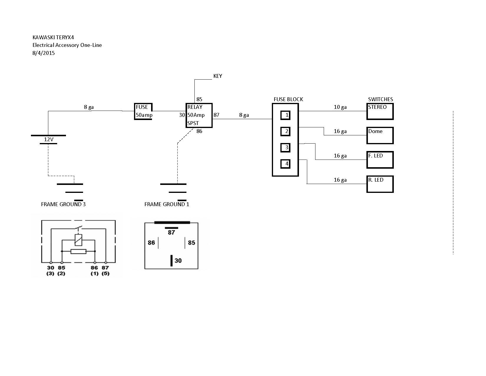 how to wire a fuse box diagram rheem wiring diagrams heat pumps my block kawasaki teryx forum