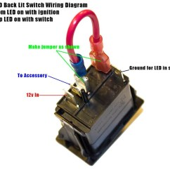Wiring Diagram For Light Bar Rocker Switch 2006 Kenworth T800 Headlight Help Kawasaki Teryx Forum