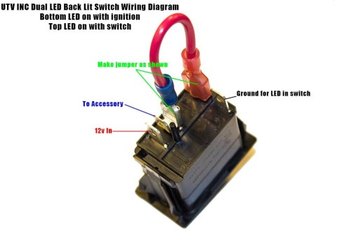 small resolution of rocker switch help kawasaki teryx forum