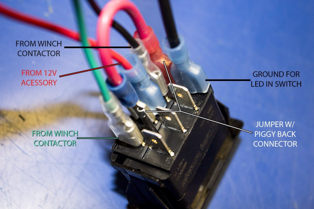 medium resolution of wiring rocker switch for winch wiring diagram blog warn winch switch wiring diagram warn winch switch wiring