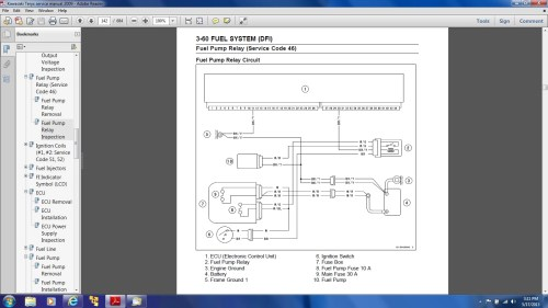 small resolution of  mule 3010 wiring diagram no power to fuel pump ecu issues kawasaki teryx forumclick image for larger version name