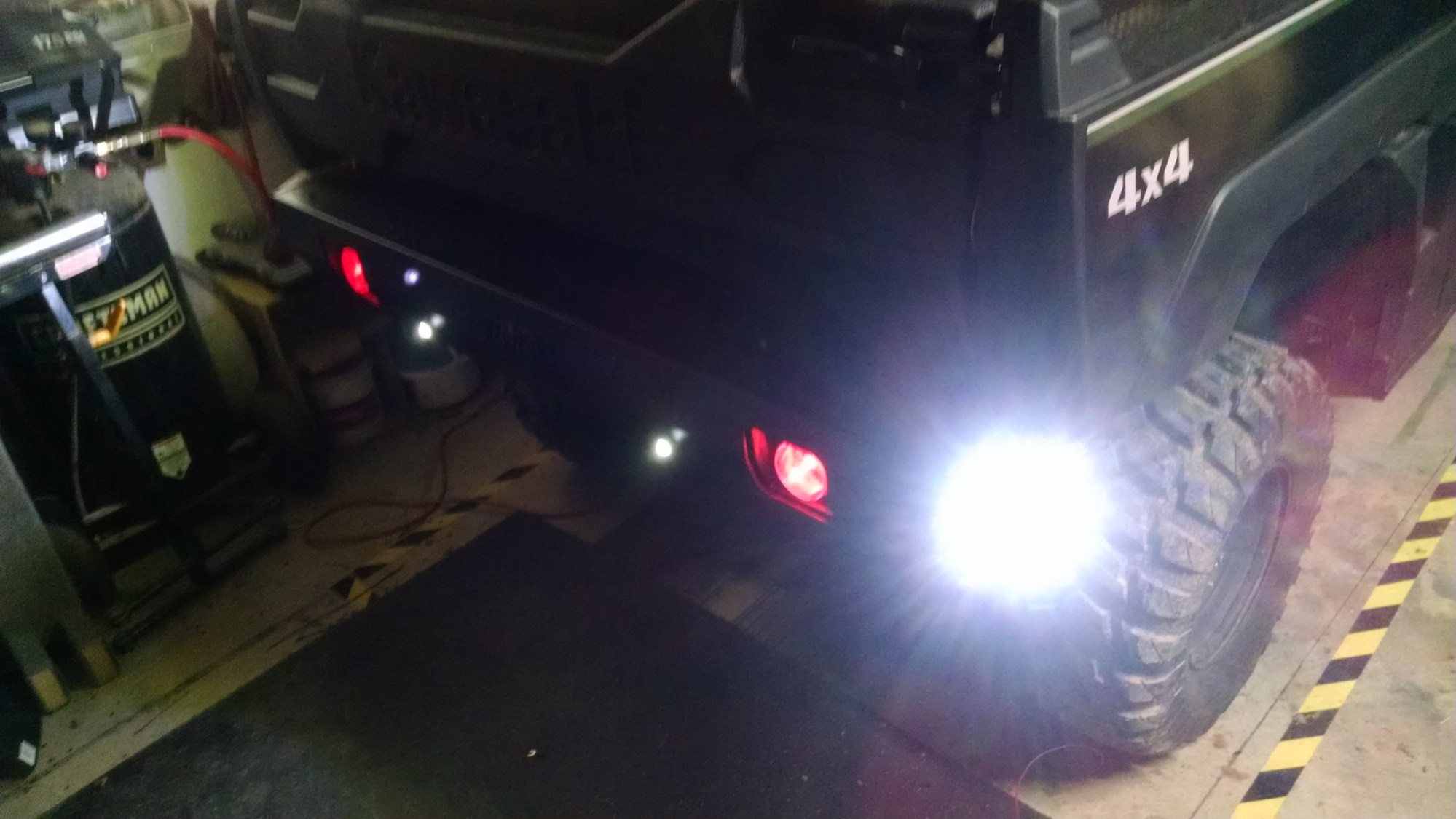 hight resolution of wiring up led lights on a kawasaki pro fxt wiring diagram row mule pro wiring diagram