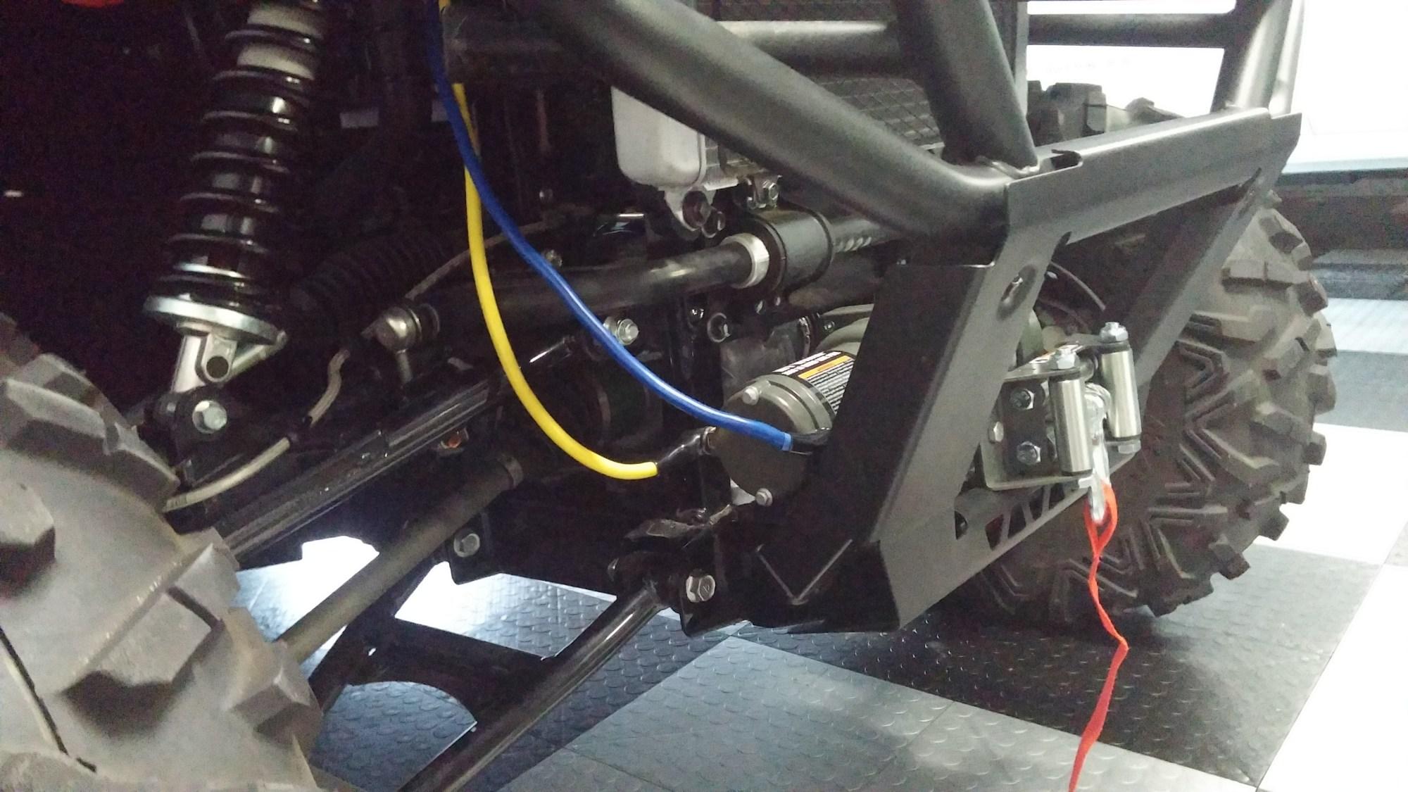 hight resolution of badlands 3500 winch install kawasaki teryx forum mix kawasaki teryx winch wiring 1