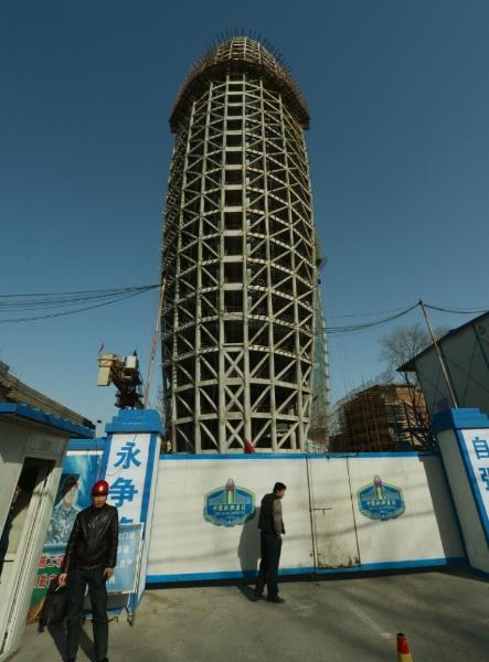 Pechino palazzo a forma di pene imbarazza i social network Censurato  Terzo Binario News