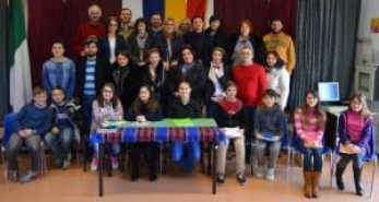 Gruppo romeno alla Melone