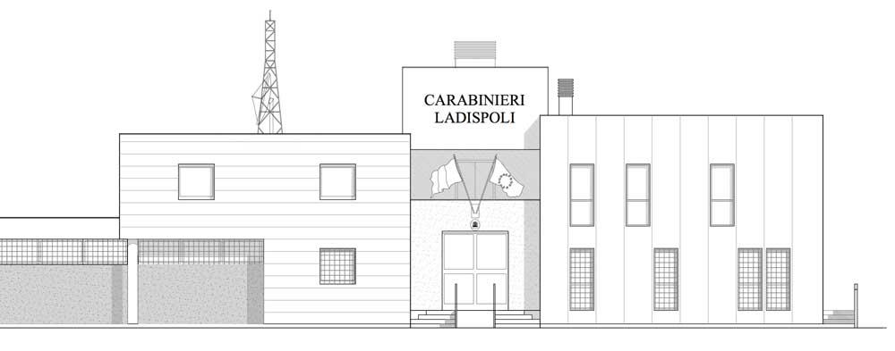 Nuova caserma dei Carabinieri a Ladispoli: spuntano 1.778 mc in più