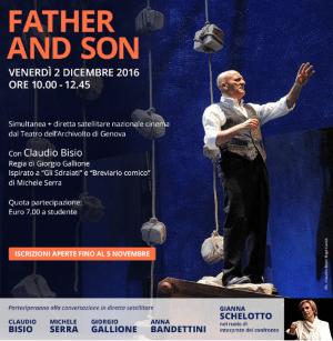 """Gli studenti del """"Di Vittorio"""" tra gli spettatori di """"Father and son"""""""