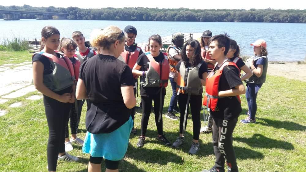 Ladispoli, campo scuola naturalistico per gli studenti della Corrado Melone