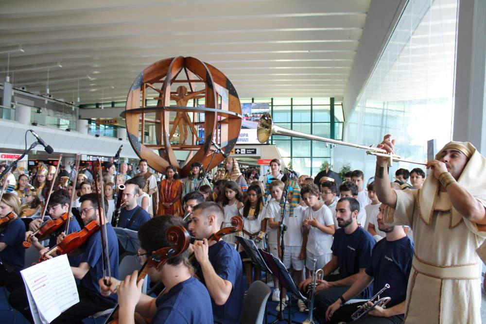 Festa della musica: Aida e musica popolare nei terminal a Fiumicino