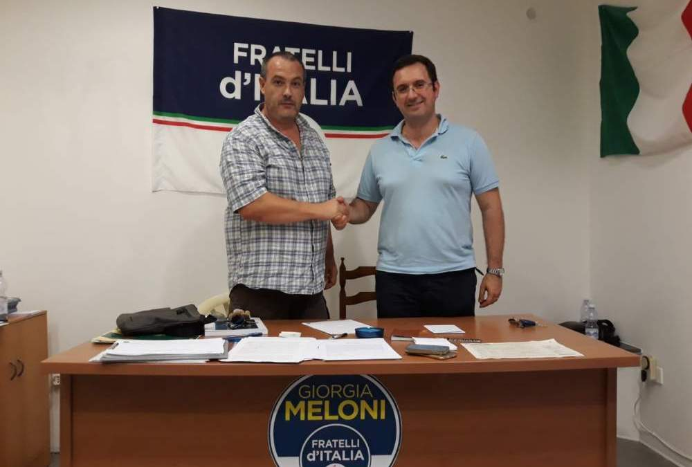 Civitavecchia, il Consigliere Girolami aderisce a Fratelli d'Italia