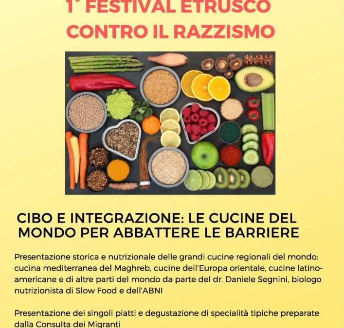 Festival contro il Razzismo: Consulta Migranti e il Nutrizionista Segnini tra cibo e integrazione
