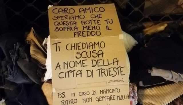 """Il clochard di Trieste. """"A Civitavecchia nel '97, negato l'asilo politico pur scappando da Ceaucescu"""""""