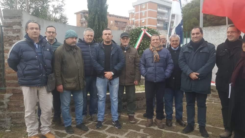 """Ieri il ricordo delle vittime delle Foibe promosso da Fratelli D'Italia a Civitavecchia """"FOIBE: Io ricordo"""""""