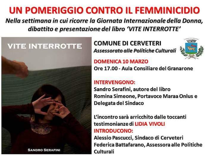 Cerveteri, al Granarone 'Vite interrotte': un pomeriggio contro il femminicidio