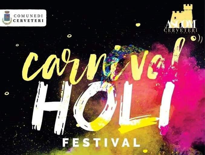 Cerveteri, domenica l'Holi Festival dell'Ascom