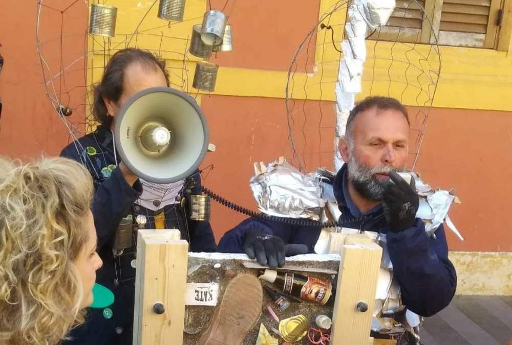 Cerveteri, la Banda Riciclante della Salvo d'Acquisto invade il Centro Storico