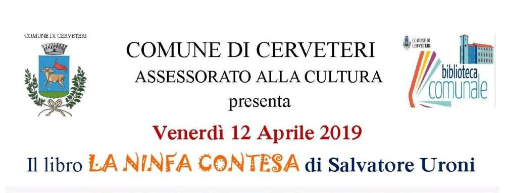 """Cerveteri, oggi al Granarone si presenta il libro """"La Ninfa contesa"""""""