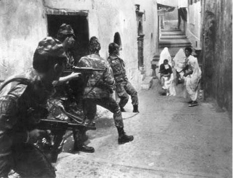 Cezayirde İşgal Çatışmaları