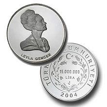 gencer'in adına basılan para