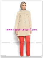 Boru paça mercan kabartmalı pantolon-35 TL