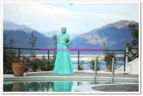 Setrms 2015 aqua abiye elbise